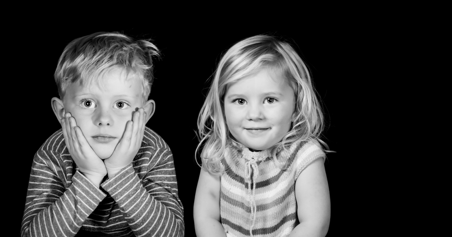 Smukke børn